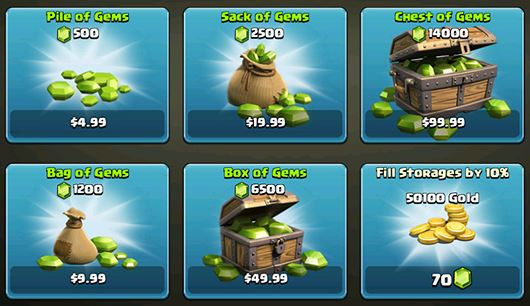 Clash of Clans has refined the formula for multiple currencies