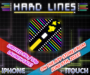 Hard Lines launch ad