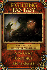 Warlock of Firetop Mountain screenshot