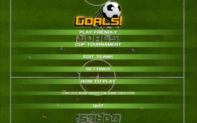 GOALS screenshot