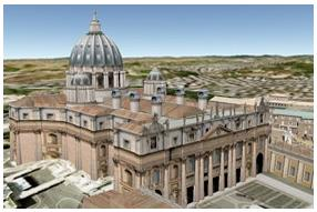 Google Earth 3D cathedral