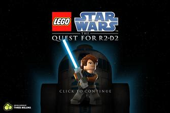 Lego Star Wars: The Quest for R2-D2 splashscreen