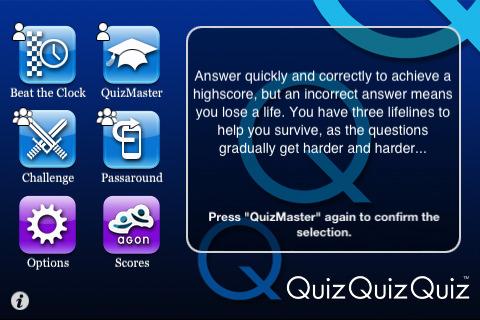 Quiz Quiz Quiz screenshot