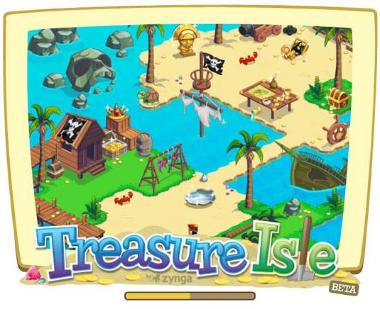 Play Treasure Isle on Facebook